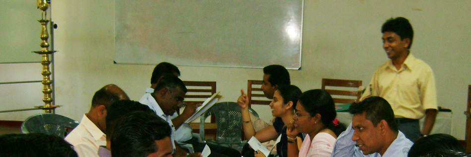 CCSD Course Facilitator Conducting a Session